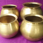 Beautiful Antique Brass Rice Cooking Pots