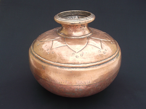 Antique Copper Water Storage Pot – Pani Ka Ghada