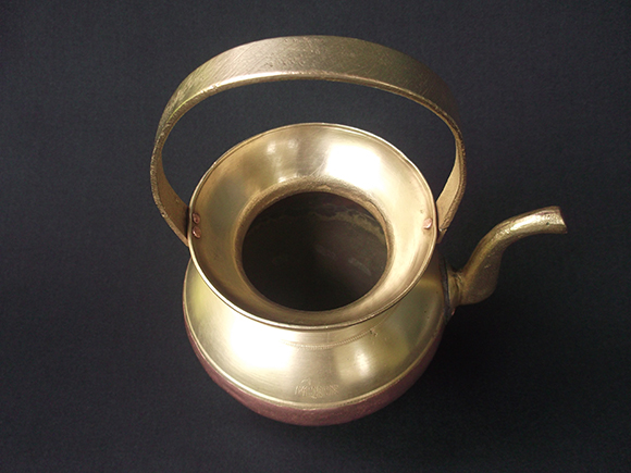 Over view of Antique Brass and Copper Kamandalam.