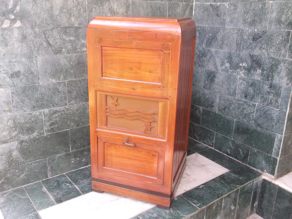 Custom made wooden cabinet