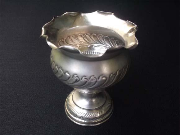 Silver Chandanam pot