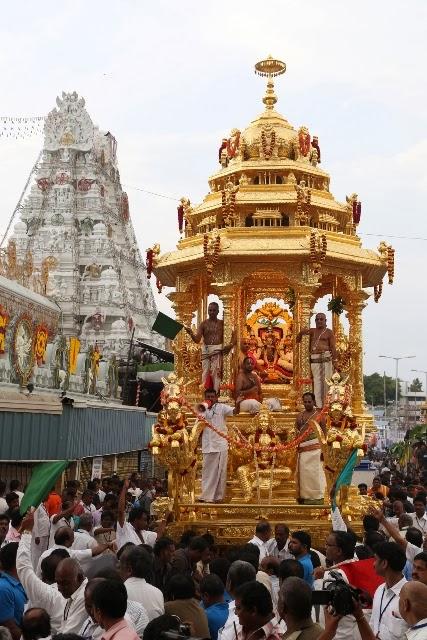 Goldem chariot