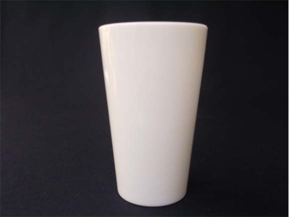 Vintage Milk Glass Tumbler- Front view