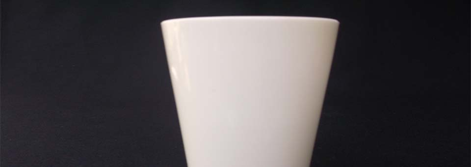Vintage Milk Glass Tumbler