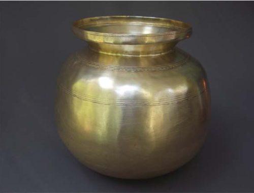 Antique Brass Ghee Storage Pots Yk Antiques