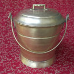 Antique Brass Sweets Carrier