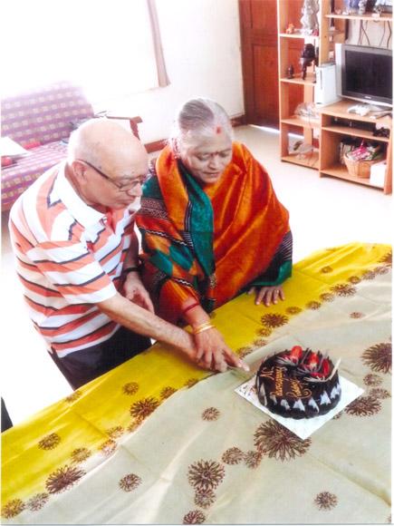 Shrimathi Saraswathi garu and Sri Venkatappayya garu