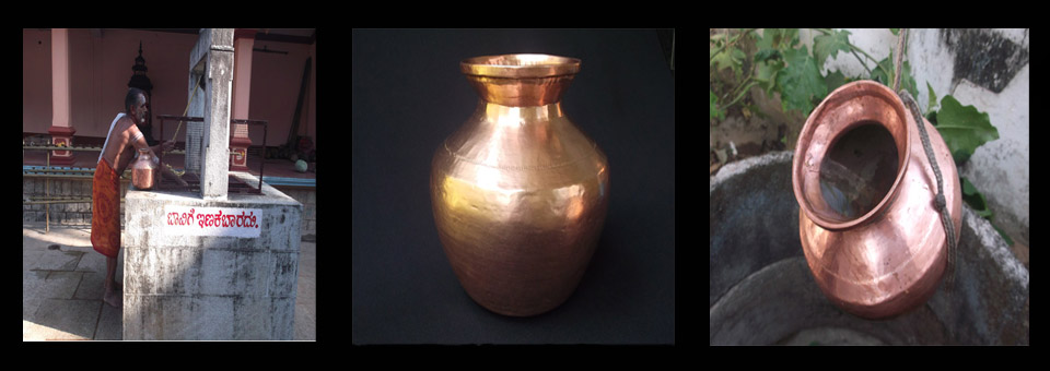 Thondi-The copper pot for water