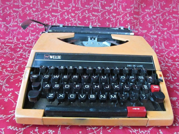 The Click And Whirr Of The Vintage Portable Typewriter