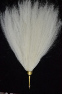 Chamaram- The fan made out of the tail hair of the Yak