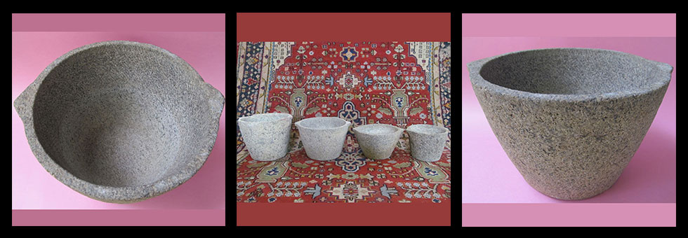 Back to Basics-Antique Stone Cooking and Storage Pots