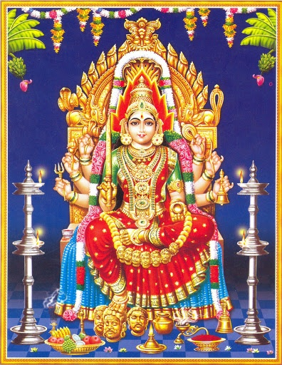 Mari Amman of the famous Samayapuram temple.